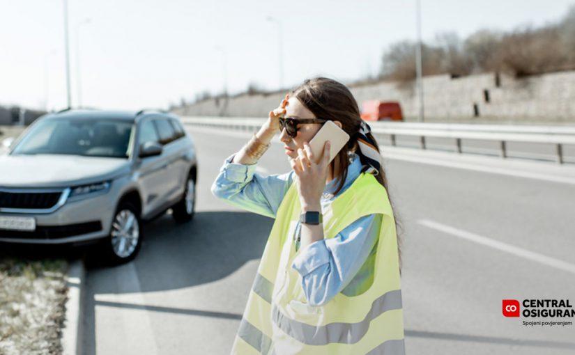 Što u slučaju prometne nezgode?