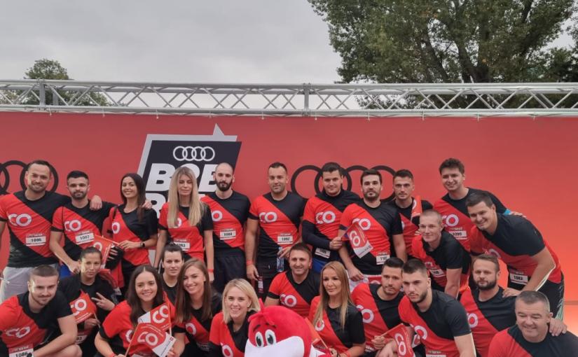 Cental osiguranja na B2B Run Sarajevo